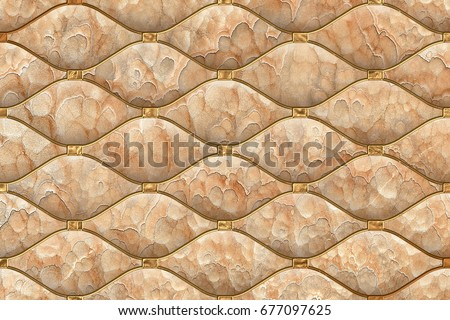 Abstract Home Decorative 3d Wall Tiles Design Background