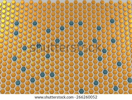 abstract honeycomb composition royalty - photo #46