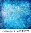 abstract icy blue grunge background for multiple uses - stock photo