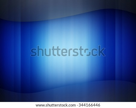 Abstract illustration of blue background - stock photo