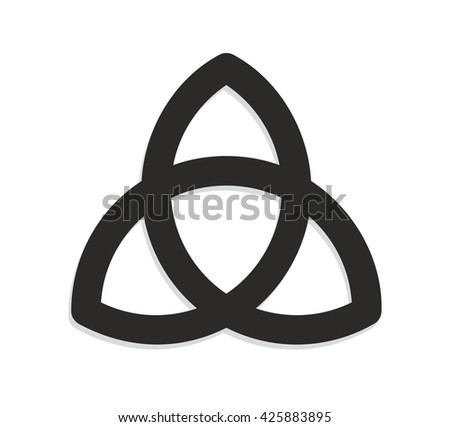 Abstract Illustration Celtic Knot Symbol Infinity Stock Illustration