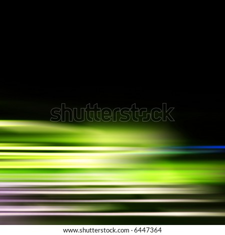 Abstract illustration of high speed motion