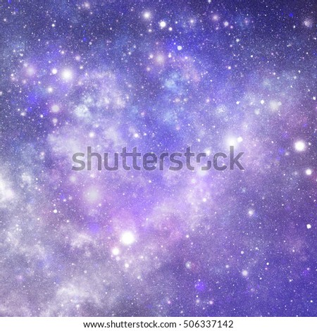 abstract illustration of universe as background