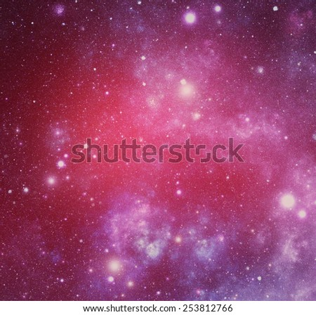 Abstract illustration of universe or cosmos