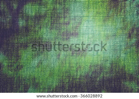 Abstract illustration with fabric texture.