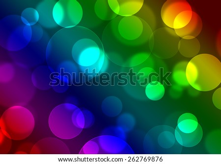 Abstract image circle blur colorful vivid burn background.