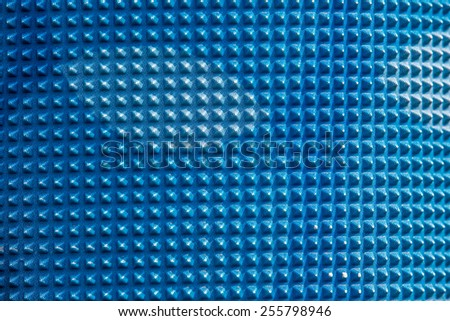 abstract image of cubes background in blue toned,blue texture - stock photo