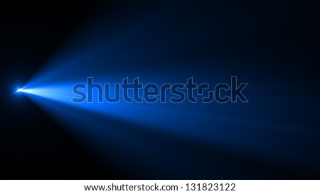 Abstract image of  lighting flare - stock photo