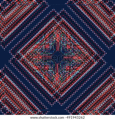 Abstract image, tapestries It can be used as a pattern for the fabric