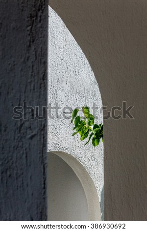 Abstract Images from the Greek Islands of Skopelos and Skiathos, popular tourist destinations in the Mediterranean. - stock photo