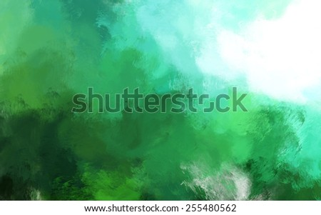 abstract impressionist style painting background