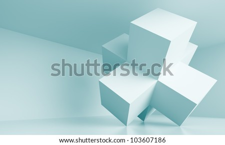 Abstract Industrial Design - stock photo