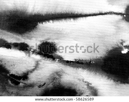 Abstract Ink Background 5 - stock photo