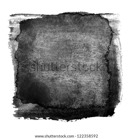 Abstract ink background, made myself - stock photo