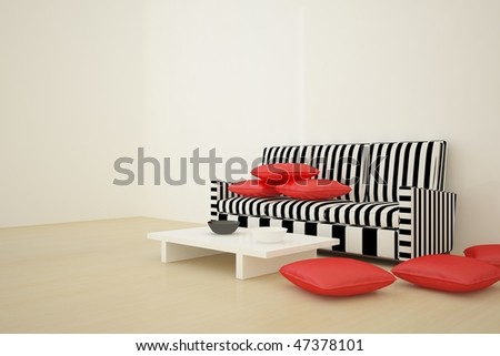 abstract interior concept