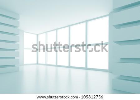 Abstract Interior Design - stock photo