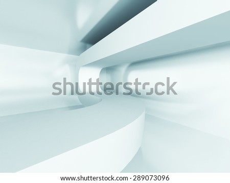 Abstract Interior Detail Architecture Background. 3d Render Illustration - stock photo