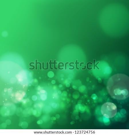 Abstract Irish Saint Patrick Day background - stock photo