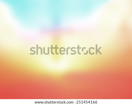 Abstract Jesus on the cross on autumn sunset background. Worship, Forgiveness, Mercy, Humble, Repentance, Reconcile, Adoration, Glorify, Redeemer concept. - stock photo