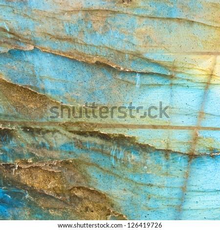 Abstract labradorite texture background. - stock photo