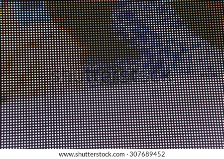 Abstract led screen, texture background - stock photo