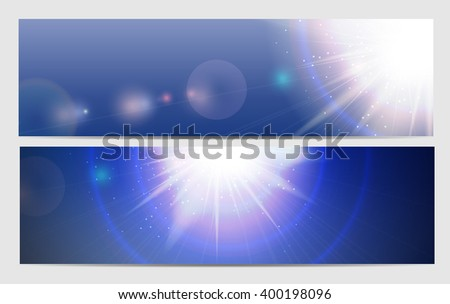 Abstract Light Blue Background Illustration  - stock photo