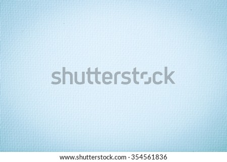 abstract light blue colored tone of watercolor paper material texture background:rough paper backdrop pattern concept:smooth and mild wallpaper:vignette display conception:vivid blue colour gradient. - stock photo