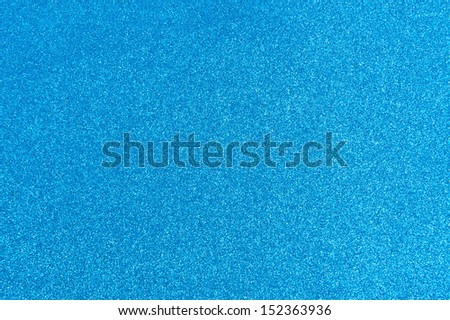 Abstract light blue glitter background - stock photo