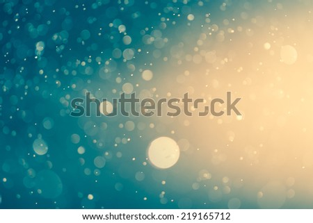 abstract light bokeh background - stock photo