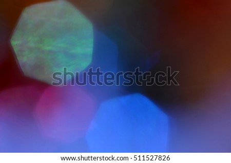 Abstract light bokeh background. Colorful Blurred Wallpaper.