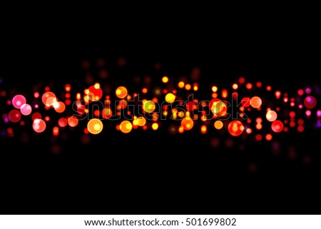 Abstract Light Bokeh Background ,Xmas background