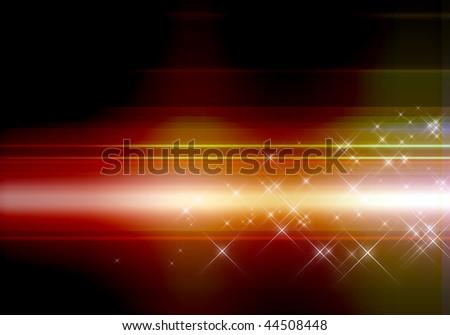 Abstract light-Computational graphic - stock photo