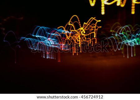Abstract light,Light line,Light Colour,Night light