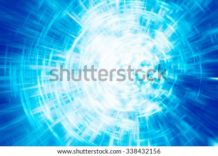 abstract light motion blur background - stock photo