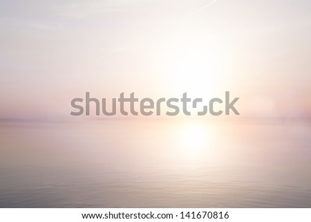 abstract light  sea summer background - stock photo