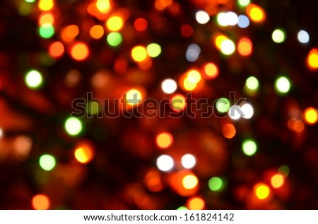 Abstract lighting decoration.