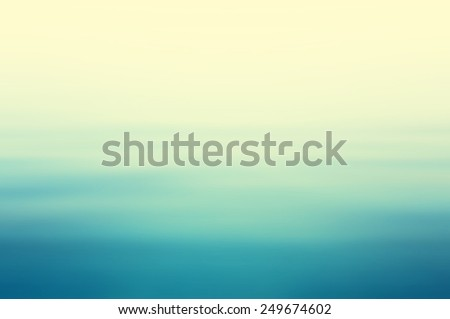 Abstract lighting on water ripple in blurred background concept in vintage tone - stock photo