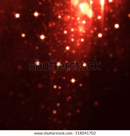 abstract lights background - stock photo