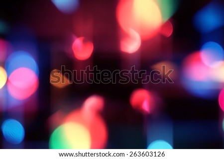 abstract lights, blurred abstract pattern. - stock photo