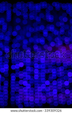 abstract lights, blurred abstract pattern. Abstract blue bokeh background. Defocused light dots abstract background.  - stock photo