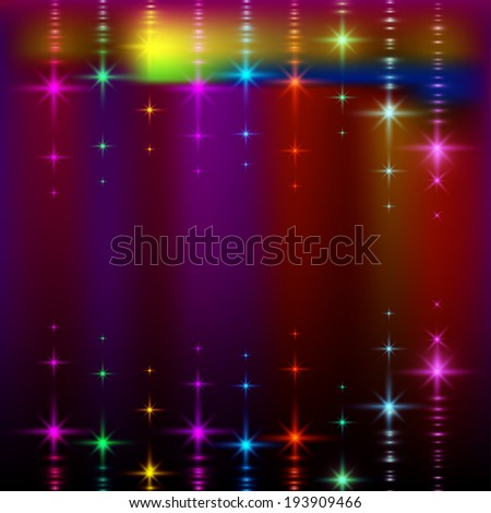 abstract lights, blurred  pattern background. - stock photo