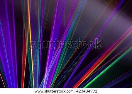 Abstract lines colorful background, multicolored lines in motion blur. Desktop background - stock photo