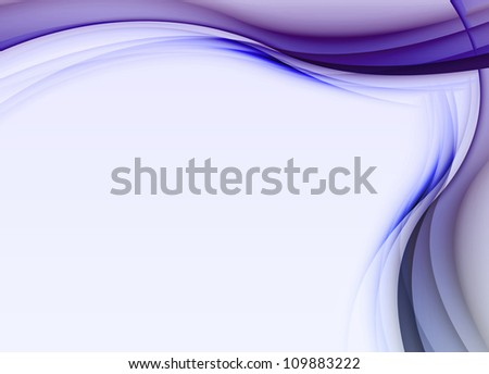 abstract lines or waves - stock photo