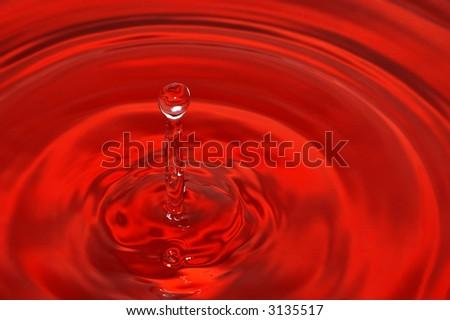 Abstract liquid - stock photo