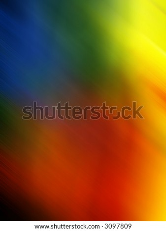 abstract luminous rainbow colors background - stock photo