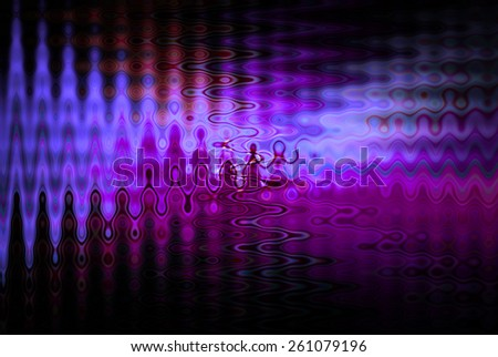 Abstract Magenta Tone Color: Wavy Background style