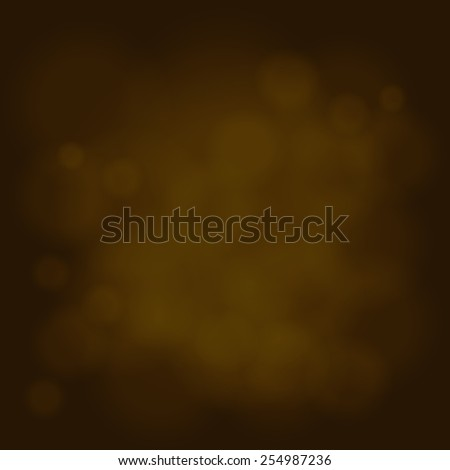 abstract magic light sky bubble blur gold background - stock photo