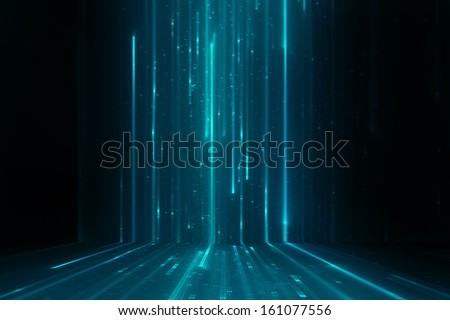 Abstract matrix like background - stock photo