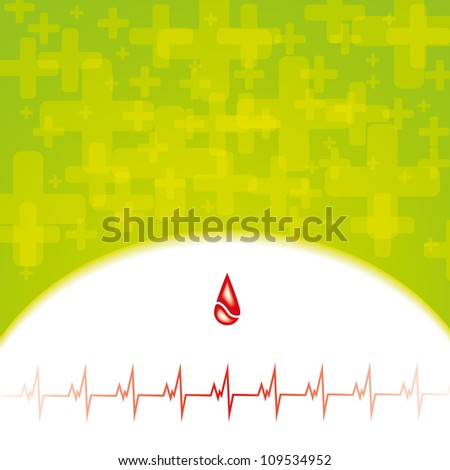 Abstract medical background - stock photo