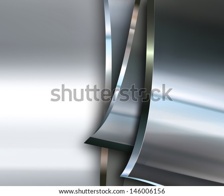 abstract metal background for your projects - stock photo